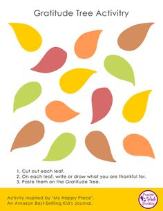 We made you a Gratitude Tree poster and separate. Splash Studio, Activities To Do, My Happy Place, Make You Smile, Kids And Parenting, Gratitude, Make It Yourself, The Originals, Brownies
