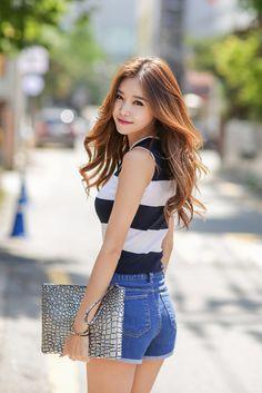 Eonbal Cutting Shorts  #korean #koreanfashion #koreanstyle