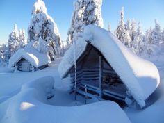 The peak of Ritavaara in Pello in Finnish Lapland