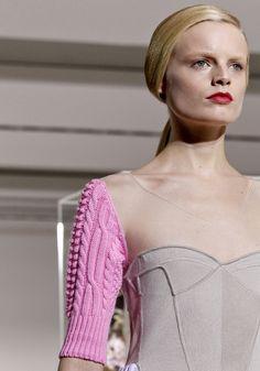 Raf Simons last show for Jil Sander- AW12 Milan Fashion Week