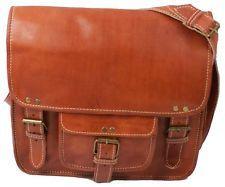 Aktentasche Umhängetasche Lehrertasche Schultasche Leder Tasche vintage bag N10K