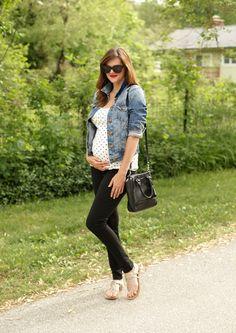 Maternity Style, Polka Dots