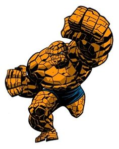 "The Thing (Benjamin Jacob ""Ben"" Grimm; first appearance in Fantastic Four Vol. 1 #1, 1961)"