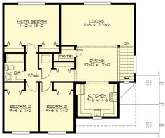 single floor, one level 4-bedroom, ranch style, brick home big bedrooms, open floor, ranch hip, farmhouse 1-story, on carriage house plans 2500 sq ft