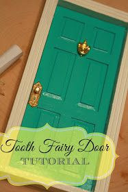 Britches & Boots : A Place I Call Home: Tooth Fairy Door - Tutorial