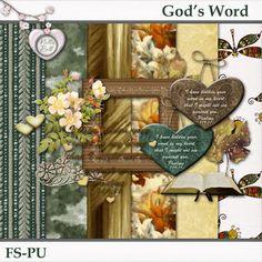 God's Word | Nellie Bell's Digital Scrapbooking Freebies, April Showers, Paper Crafts, Home Decor, Decoration Home, Paper Craft Work, Interior Design, Home Interior Design, Paper Crafting
