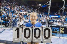 My first 10!!!! Ariana Berlin, Team Usa Gymnastics, Madison Kocian, Final Five, Laurie Hernandez, Gymnastics Pictures, Ucla Bruins, Female Gymnast, Powerful Quotes