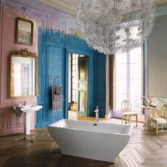 Fab French Bathroom.