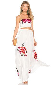 6 SHORE ROAD Boho Dress Set in Moonlight White