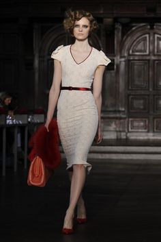 L'Wren Scott RTW Fall 2012- Vintage Lady Fab!