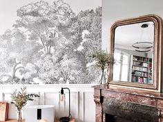 Les 499 Meilleures Images Du Tableau Papier Peint Salon Sur