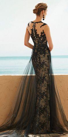 e19e5aba76 Elegant Tulle Jewel Neckline Sheath Column Mother Of The Bride Dresses With  Lace