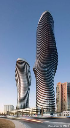 Absolute World Building D, Mississauga-Canada, 175.6 m, completion-2012, architect- MAD Architects