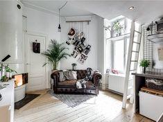 Light wood floor #homedecorhipster