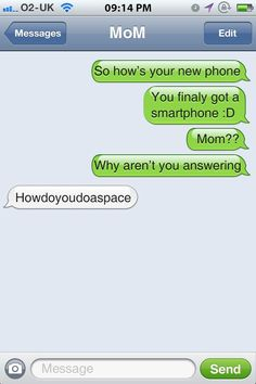 10 Funny Text Message Conversations With Moms - Funny Text - - There is nothing that moms can't do perhaps! except text messaging The post 10 Funny Text Message Conversations With Moms appeared first on Gag Dad. Funny Images, Funny Pictures, Funny Text Conversations, Cute Texts, Stupid Texts, Message Mom, Funny Text Messages, Thing 1, Lol