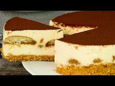 Tiramisu sau cheesecake?! Nu știi ce desert îți place mai mult?Iată combinația perfectă! | SavurosTV - YouTube Tiramisu Mascarpone, Tiramisu Cheesecake, Jacque Pepin, Biscuits, Cacao, Cheesecakes, Gelato, Caramel, Baking