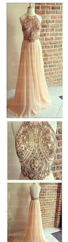 Backless Prom Dresses,A-line Prom Dresses,Chiffon Prom Dresses,Popular – SofieBridal