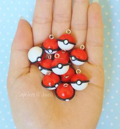 Gotta catch em all right? You cant do that without a Pokeball or 2. These awesome Pokeballs can be earrings, a keychain, necklace etc. the skys the limit!!!If you want me to customize these charms in anyway feel free to contact me via messaging and be sure to check out the rest of my shop for more awesome charms! Happy shopping!  All of my charms are made extremely durable so they can put up well with any everyday experience, if you would want to see the charms, you should check out my…