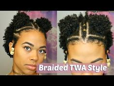 Fabulous TWA Hairstyles Inspiration for Short Natural Hair - Part 38 It can be hard trying to find creative styles for your teeny weeny afro or TWA hairstyle. Just because your natural hair is short doesn't mean it can't look fab Cabelo Natural 4c, Cabello Afro Natural, Natural Hair Twa, Natural Afro Hairstyles, Black Hairstyles, Short Twa Hairstyles, Undercut Natural Hair, Hair Styles 2016, Curly Hair Styles
