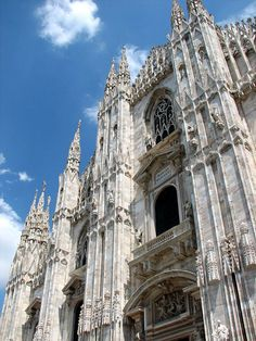 Milan Cathedral - visited July 2006