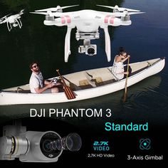499.00$  Watch now - http://alikr5.worldwells.pw/go.php?t=32762218785 - DJI Phantom 3 Standard RC Quadcopter Helicopter FPV UAV Aerial Photography for Beginner Ready to Fly w/ 2.7K Camera Quadcopter 499.00$