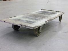 Boston: Vintage Industrial 2-Wheel Freight Cart $195 - http://furnishlyst.com/listings/1005941