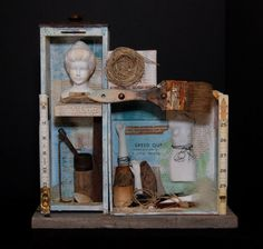The Doll Factory by Legacymixedmedia ...more parts....