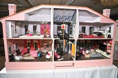 UCLA/Mattel Kaleidoscope Ball 2013 Silent Auction: Dollhouse by Mark Cutler & Cari Berg