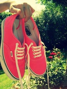 "Rose pink.--next shoes :) because I love my vans even if they aren't ""cool"" anymore lol"