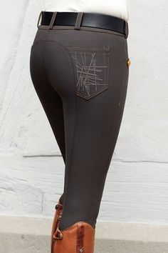 "WANT...even though I don't really ride English anymore.. Pikeur 2013/2014 ""Linette"" Breeches pocket detail."