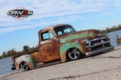 Awesome Great 1955 Chevrolet Other Pickups  1955 Chevy 3100 RESTOMOD,LS V8,Auto,PS,PDB,AC,Air Ride,Bagged,Rat Rod,Patina 2017/2018