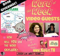 Word of the Week w/Guests Julie Gribble & Lori Hanson (3/23/2015) #KidLitWow & Giveaway (Ends 4/11/2015)
