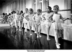ballet class. This reminds me Helen Wick Walters dance studio that I spent so many hours, days and years learning to dance.