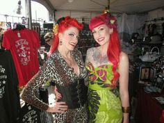 Nikki Napalm and Kitty Mansfield at Ink N Iron