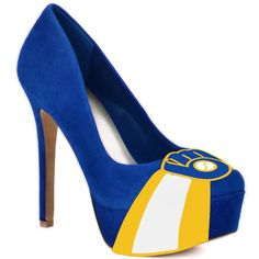 Milwaukee Brewers High Heels repin for your chance to win your own pair!