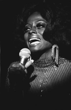 Diana Ross sings the blues