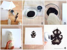 Domain Default page Paw Print Crafts, Paw Print Art, Diy Pour Chien, Dog Paw Art, Puppy Room, Dog Branding, Dog Rooms, Pet Paws, Dog Memorial