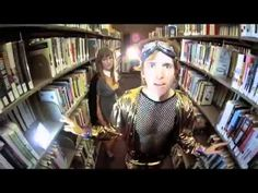 """Super funny! Sexy Librarian Music Video by """"Gustin Gingerlake"""" aka Mike Anderson"""