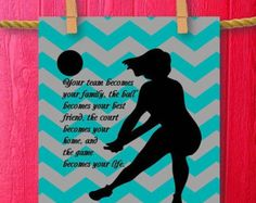 girl volleyball theme bedrooms - Google Search