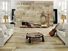 Peronda timber collection transfers the marks and organic patina of aged wood to ceramic tiles via the decorating diva
