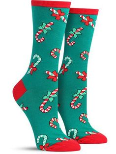 Haute diggity-dawg. If your beloved weiner dog won't let you squeeze it's cylindrical body into a scratchy Christmas sweater, follow with the next best thing: comfortable, fun Christmas socks that won