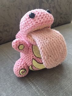 Well, hello there, you little bugger… Kostenlose Anleitungt / free pattern (pdf-file) schlurp-lickitung-pokemon-crochet-hakeln-pattern-anleitung_3