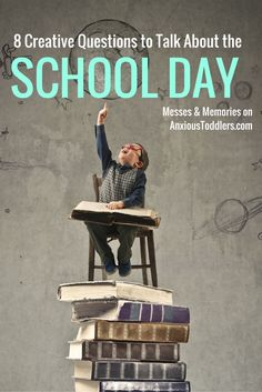 Tired of one word answers when asking about your child's school day? Here are 7 creative questions that are bound to get your child giving you a bit more insight into life at school.