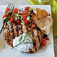Greek-Style Pork Chops full recipe at http://recipehub.net/greek-style ...