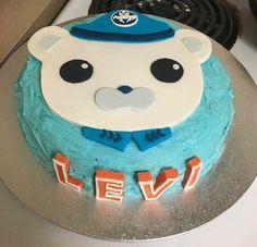 Octonauts fondant topper - Annabethbakes Fondant Toppers, Birthday Cake, Desserts, Photos, Food, Tailgate Desserts, Birthday Cakes, Deserts, Eten