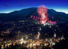 Mammoth Mountain's night of lights