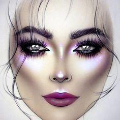 #artist @milk1422 🌟 👑 ✨ #illamasqua #myart #myartistcommunity #jeffreestarcosmetics #limecrimemakeup #makeupart #makeupstar #makeupforever #makeuplover #macfacechart #luck #facechartartist #обучениевизаж #facechart #facechartart #faceart #christmasmakeup #макияж #hudabeauty #nyxcosmetics #instagram #anastasiabeverlyhills #Mystic #creativemakeup #katvondbeauty #maccosmetics #starcrushedminerals #sugarpill #beautymakeup