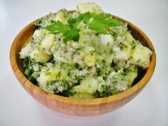 Mock Potato Salad & Other simple banting recipes