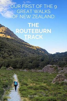 Our account of hiking the beautiful Routeburn Track, Great Walk of New Zealand.