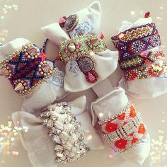 New Doloris Petunia bracelets I've just received: lovely! - @chiaraferragni- #webstagram